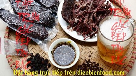 Thịt Trâu Gác Bếp: Đặc Sản Tây Bắc, đậm chất Điện Biên