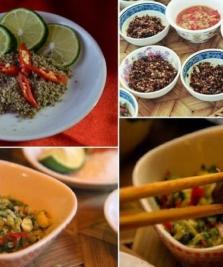 Muối chẩm chéo – Món chấm ngon của người Thái Tây Bắc