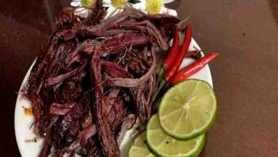 Thịt khô gác bếp Hải Tần – Hương vị truyền thống Tây Bắc