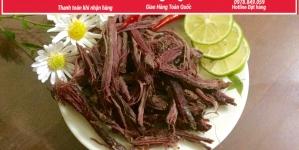 Cách phân biệt Thịt Trâu Gác Bếp THẬT & GIẢ