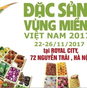 """Sự kiện sắp diễn ra """"Hội chợ Đặc sản vùng miền Việt Nam 2017"""""""