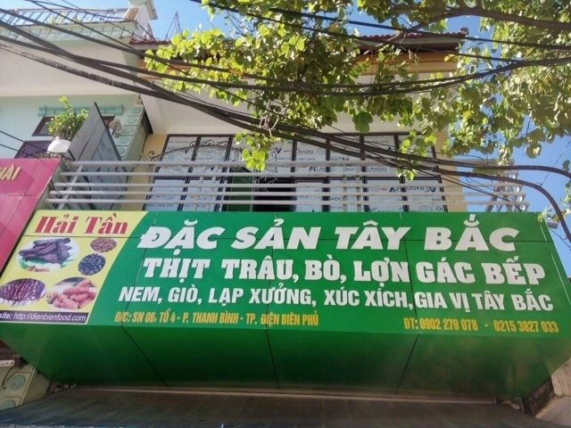 Anh Hai Tan Dien bien food