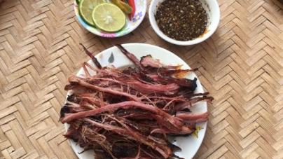 Thịt lợn gác bếp – Món ăn hấp dẫn của Tây Bắc