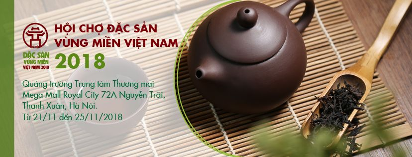 ĐIỆN BIÊN FOOD™ | THAM GIA HỘI CHỢ ĐẶC SẢN VÙNG MIỀN VIỆT NAM tại ROYAL CITY NĂM 2018