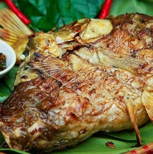 Cá Gác Bếp ( Cá Sấy ) Tinh hoa ẩm thực Tây Bắc